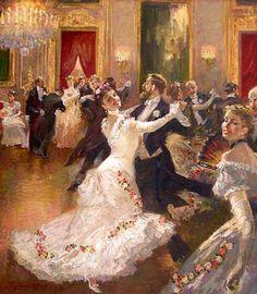 Edwardian dancing