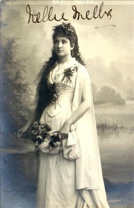 Melba Phelia in 1889