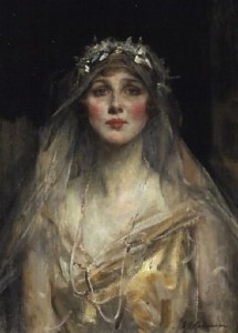 Bride Diana Manners