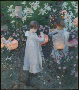 Carnation, Lily, Lily, Rose 1885-6 by John Singer Sargent 1856-1925