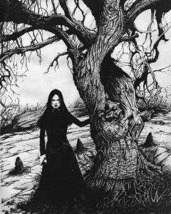 Lancashire witch cursing